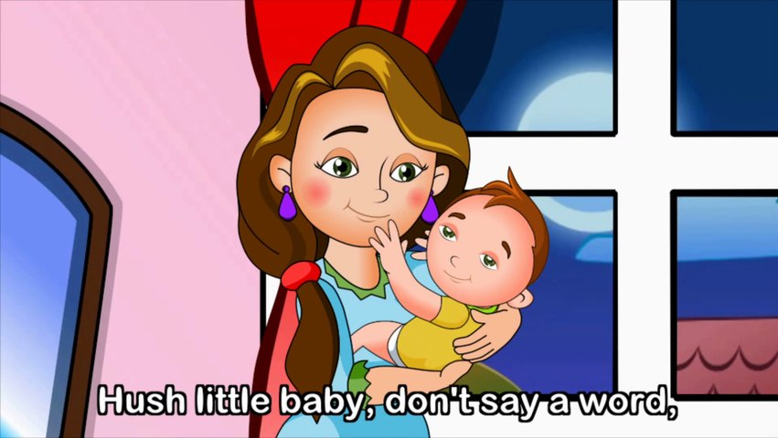 Hush Little Baby with lyrics - Lullaby by EFlashApps