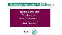 """[ARCHIVE] Remise des Prix """"mobilisons-nous contre le harcèlement"""""""