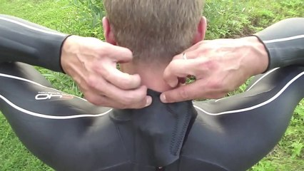 How to put on wet suit quick and easy