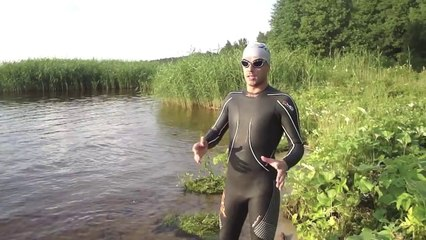 Triathlon: How to exit from swimming to T1