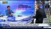 """Assises de la fiscalité: """"Les entreprises françaises paient trop d'impôts"""", Alexandre Saubot, dans GMB – 26/03"""
