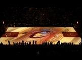 Sport étonnants Projection Cavaliers de Cleveland Avant-match Cour