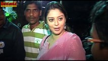 Actress Nagma KISSED & HARASSED by  Congress MLA Gajraj Singh Publicly in Meerut Rally