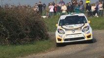 Axel Garcia pilote de rallye Renault Sport