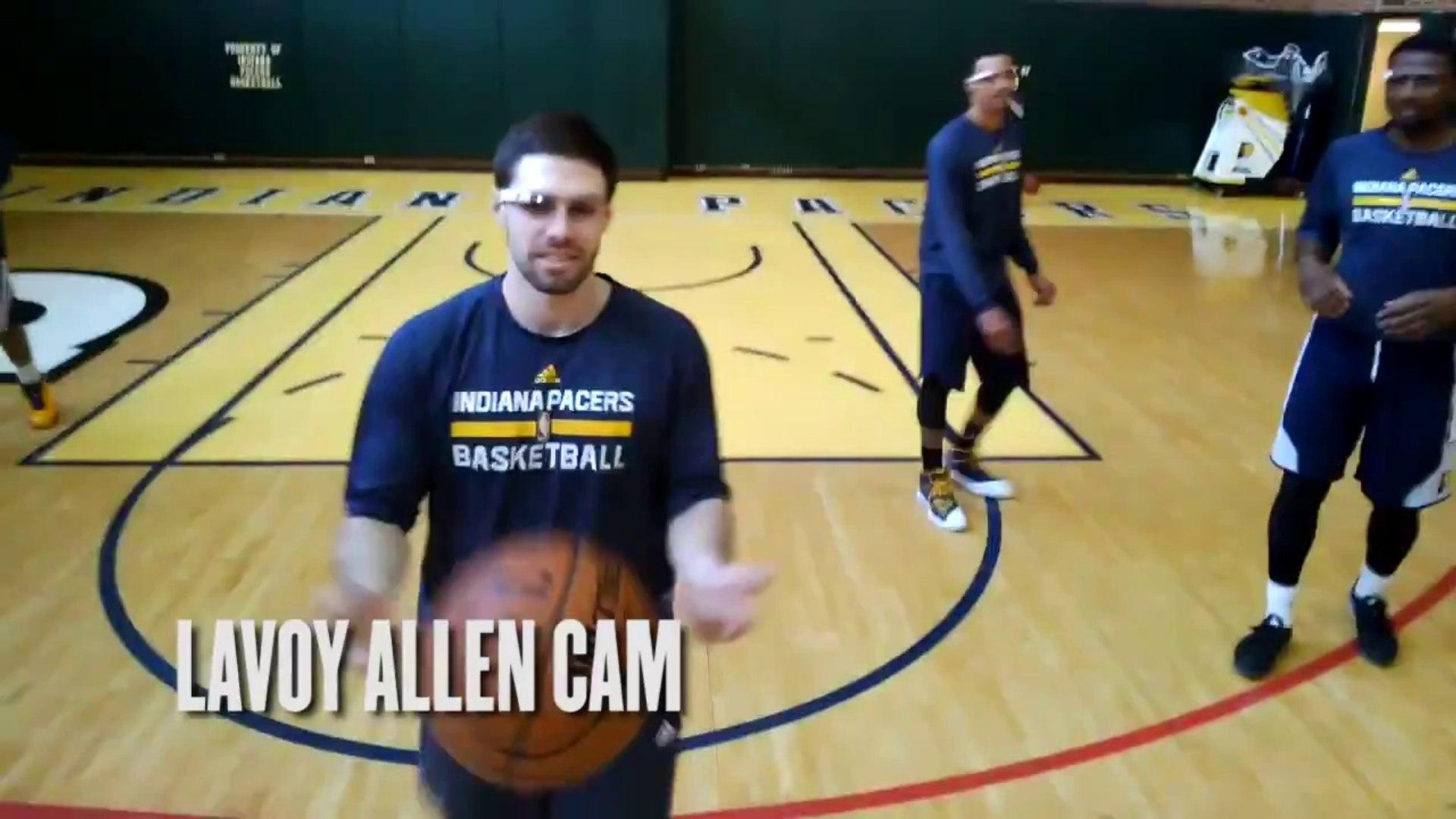 Les Pacers testent les Google Glass à l'entraînement