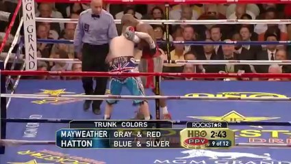 Floyd Mayweather Jr. vs Ricky Hatton