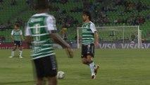 Copa Libertadores: Santos Laguna 4-1 Peñarol