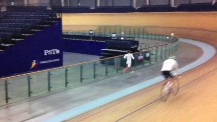 Ironman.lv training velodrome Panevezis