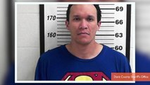 Christopher Reeves Arrested While Wearing Superman Shirt
