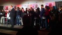 Discours de Georges Sali, du PSG au meeting de Didier Paillard à Saint-Denis