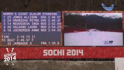 Médaille de Bronze pour Solène Jambaqué au Slalom Géant - www.bloghandicap.com - La Web TV du Handicap