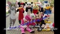 Chuyên nhận may và cho thuê các loại trang phục biểu diễn, mascot,đồ chú hề,trang phục thú hở mặt giá rẻ