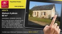 A vendre - maison - SAVIGNAC LEDRIER (24270) - 4 pièces - 80m²