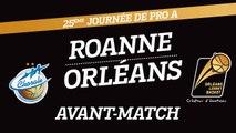 Avant-Match - J25 - Orléans se déplace à Roanne