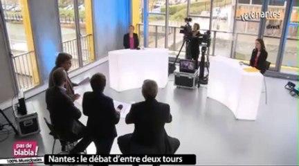 Debat des municipales , l'humour, Nantes