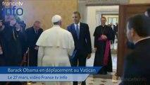 Première rencontre entre Barack Obama et le Pape François