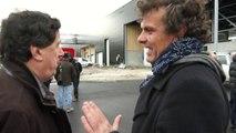 Visite de chantier du nouvel abattoir de Chambéry