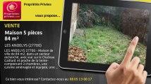 A vendre - maison - LES ANDELYS (27700) - 5 pièces - 84m²