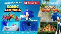 Sonic Lost World - Legend of Zelda DLC Trailer