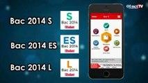 BAC 2014-L'Etudiant : l'appli qui va vous aider dans vos révisions  (test appli smartphone)