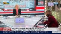 Marie-Ange Debon, directrice générale adjointe de Suez Environnement, dans Le Grand Journal - 27/03 2/4