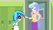 MLP Equestria Girls  2 .  Rainbow Rocks EXCLUSIVE Movie Clip   'Music to My Ears'