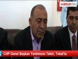CHP Genel Başkan Yardımcısı Tekin, Tokat'ta