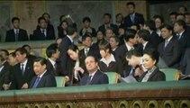 François Hollande et Xi Jinping assistent à un concert au château de Versailles