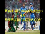 Watch Bangladesh v India Cricket  Highlights T20 World Cup (28th March 2014)