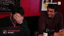 Rencontre dans un bar avec deux rugbymen avant le derby francilien