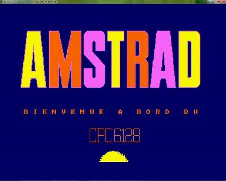 Démo de Bienvenue - Amstrad CPC 6128