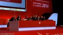 Emilio Botín asegura que Banco Santander está preparado para aprovechar todas las oportunidades