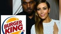 Kanye West Buys Kim Kardashian 10 Burger King Franchises as Wedding Gift