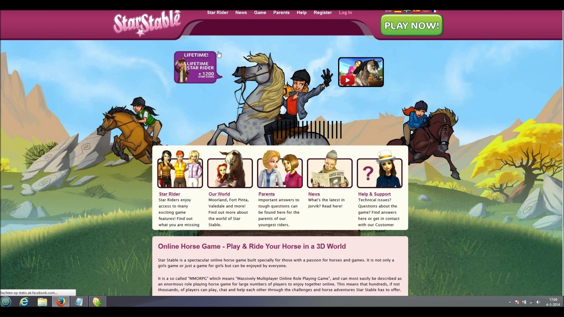 How to get free star rider membership for star stable online