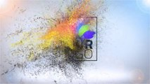 Particles And Text Logo Reveal - After Effects Template