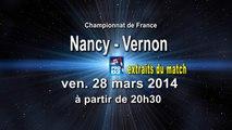 Extraits Grand Nancy ASPTT / SMV Vernon - handball ProD2
