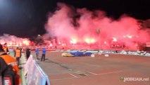 MO Bejaia - JSM Bejaia 22.03.2014 ultras pyroshow!