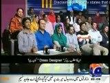 Dummy Afat Iqbal takes interview of Aftab Iqbal in Khabarnaak
