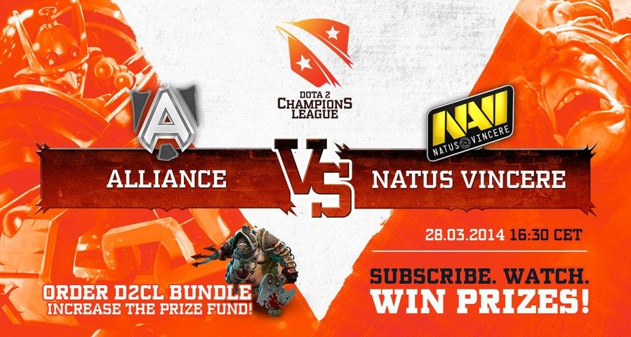 D2CL Season 2 Highlights: Natus Vincere vs. Alliance