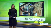 Old building collapses in UK when engineer removes single brick