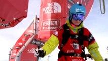 FWT14 - Run of Bib #2 Lorraine Huber AUT - Xtreme Verbier 2014
