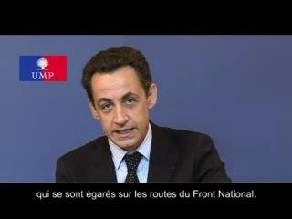 UMP - Voeux 2007 Nicolas Sarkozy