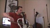 Bach On Electric Cello, Suite #3 Sarabande