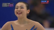 (ソトニコワ解説)浅田真央FS - 世界選手権2014 , Mao Asada FS - World Figure Skating Championships 2014