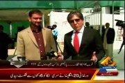 CAPITAL TV Bay-Laag Ejaz Haider with MQM Asif Hasnain (27 March 2014)