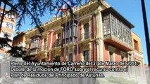 Ayto. Carreño: Debate moción del Recurso contra el Plan de Residuos del Principado de Asturias