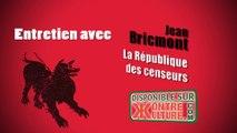 """Jean Bricmont sur son livre """"La République des censeurs"""""""