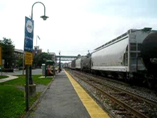 CSX Freight Train at Gaithersburg