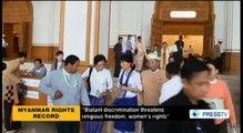 هيومان رايتس ووتش تنتقد حظر الزواج بين الأديان ميانمار -PressTV  HRW slams Myanmar interfaith marriage ban