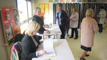 Municipales deuxième tour:  dans les bureaux de vote de Lens